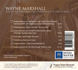 Wayne Marshall spielt in St. Kastor Koblenz